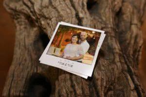 דוגמה למגנטים לחתונה
